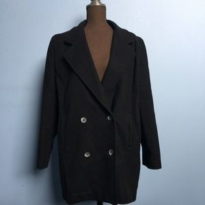 Vintage International Scene Wool Peacoat
